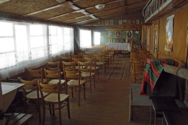 Schronisko na Hrobaczej Łące - kaplica
