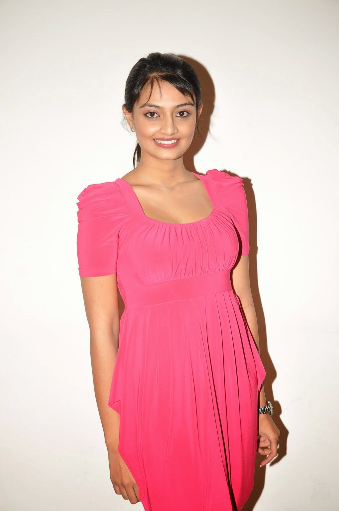 Pretty Nikitha narayan hot photos in pink dress audio release function Bollywood, Tollywood, voluptuous, pleasing, hot sexy  image gallery