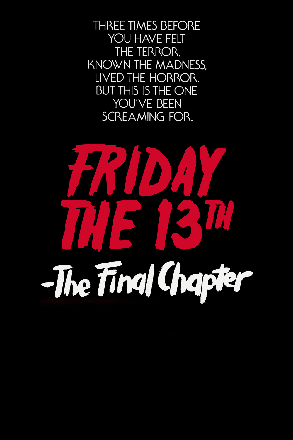 The CineFiles: FRIDAY THE 13TH: PART 4 - THE FINAL CHAPTER (