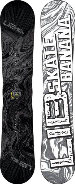Top 10 Snoboard 2015 : Lib Tech Skate Banana Wide Snowboard Stealth 159 Mens