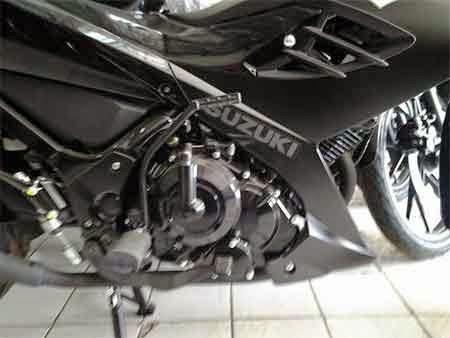 Gambar Motor Satria Black Predator