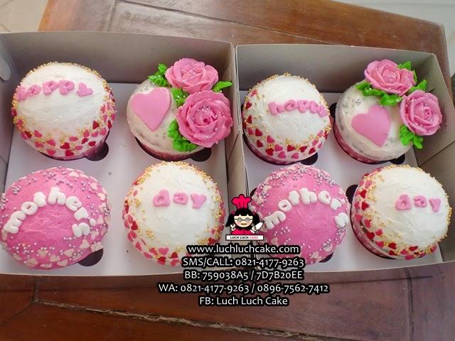 Cupcake Hari Ibu Daerah Surabaya - Sidoarjo