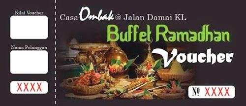 Buffet ramadhan casa ombak yumida for Casa jardin jalan damai