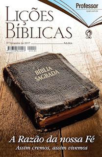 Revista de adultos do 2° Trimesre 2017