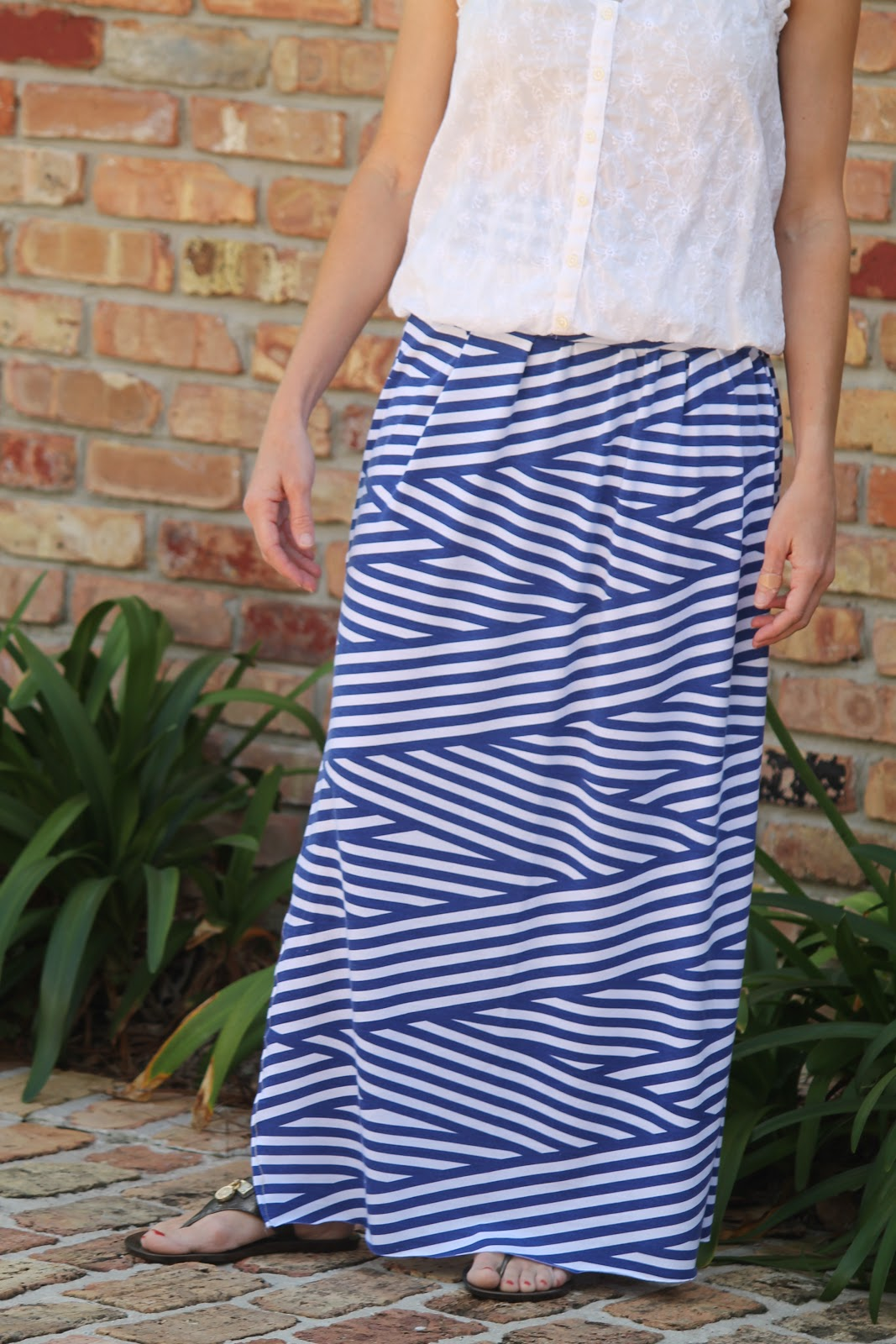 Seamingly Smitten: Knit Maxi Skirt Sewing Pattern for Women ...