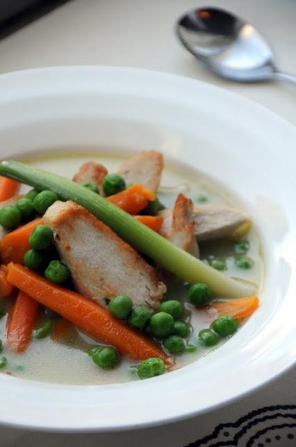 Chicken Soup with Seasonal Vegetables - Ren Behan Food