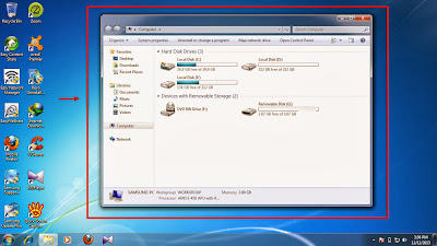 How to show hidden folder and files in windows 7 step3