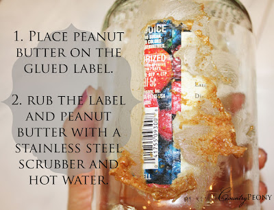 Remove label from jar