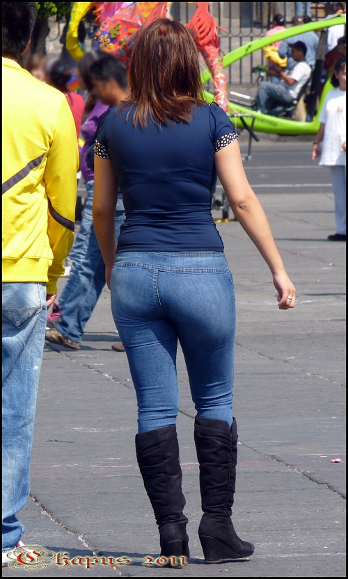 fotos voyeur chicas en pantalones ajustados: