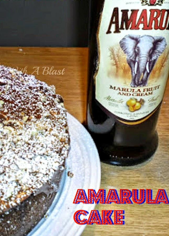 Amarula Cake ~ Traditional South-African Cake with a delicious Amarula Chocolate Ganache #Amarula #AmarulaCake #Cake