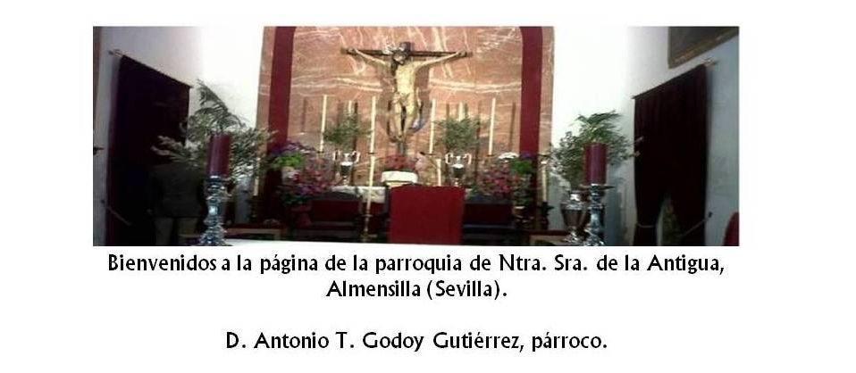 Blog de la parroquia de Ntra. Sra. de la Antigua, Almensilla