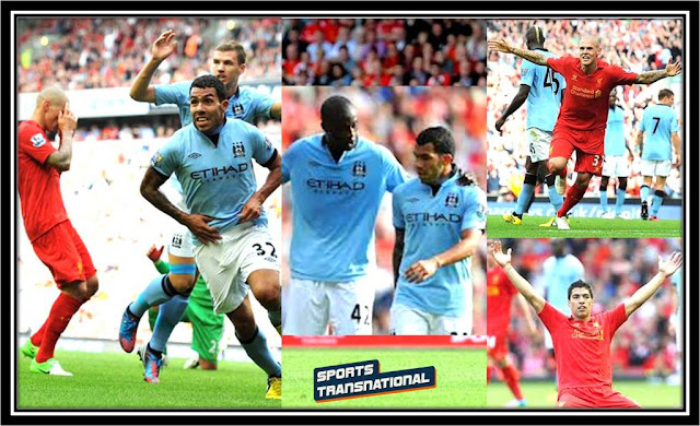 Hasil Skor Akhir Pertandingan Manchester City vs Liverpool Liga Inggris (Minggu, 3 Februari 2013)