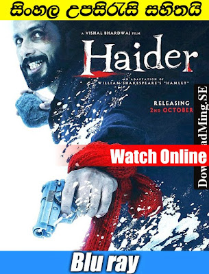 Haider 2014 Full Movie Watch online with Sinhala Subtitle