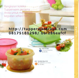 TupperwareRaya-Katalog Tupperware Reguler 2013, pak n stor