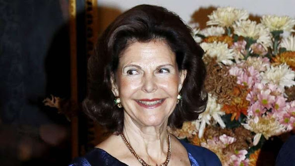 Queen Silvia of Sweden Crown Princess Victoria of Sweden, Prince Daniel of Sweden, Prince Carl Philip of Sweden, Princess Sofia of Sweden attended a concert