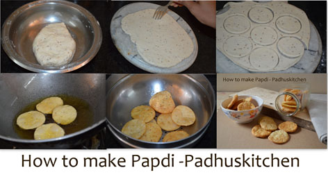 how to make papdi for chaat
