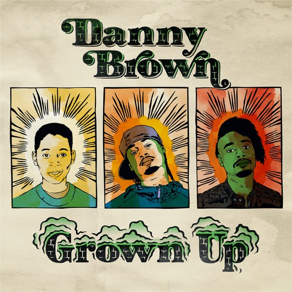 Danny Brown - Grown Up - Single  Cover