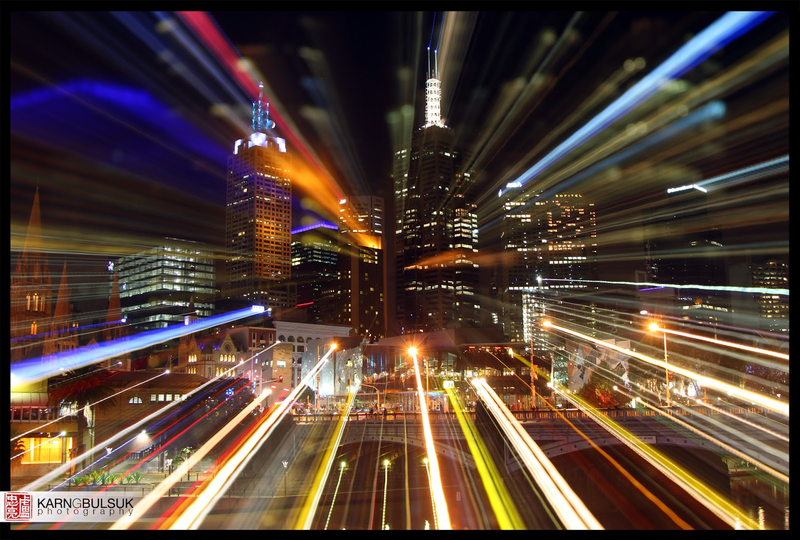 Zooming into the Melbourne CBD | Karn G. Bulsuk: Full Speed Ahead