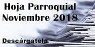 Hoja Parroquial Noviembre 2018