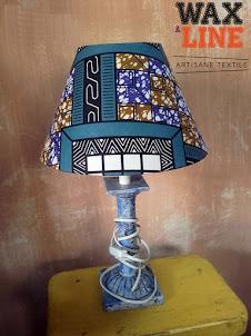 Nouvelle lampe avec Abat-jour en wax