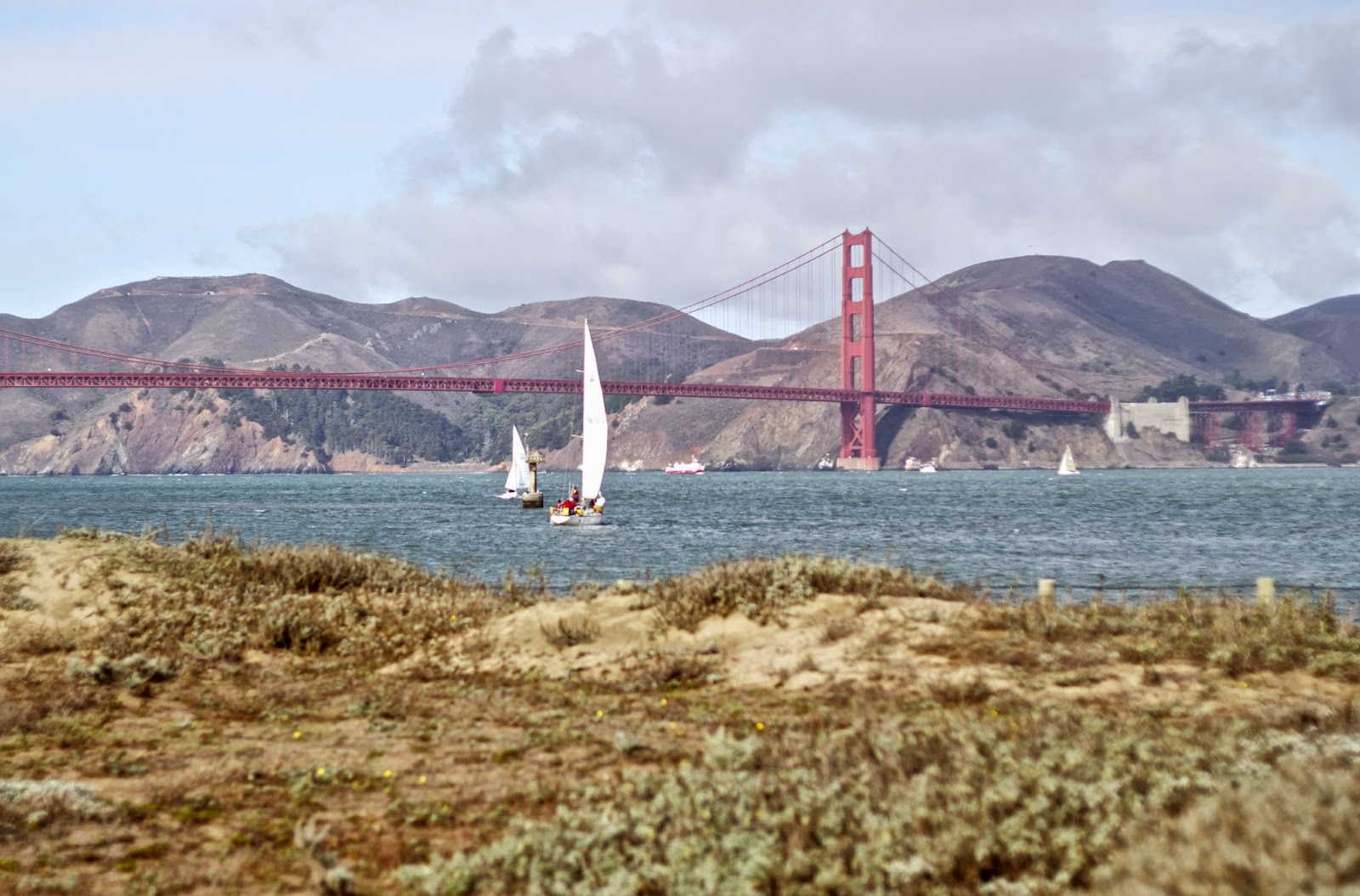 Where to see the Golden Gate Bridge