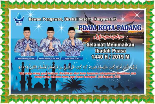 IKLAN PDAM Kota Padang