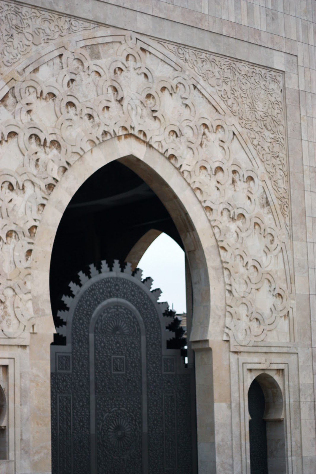 architecture hassan II mosque