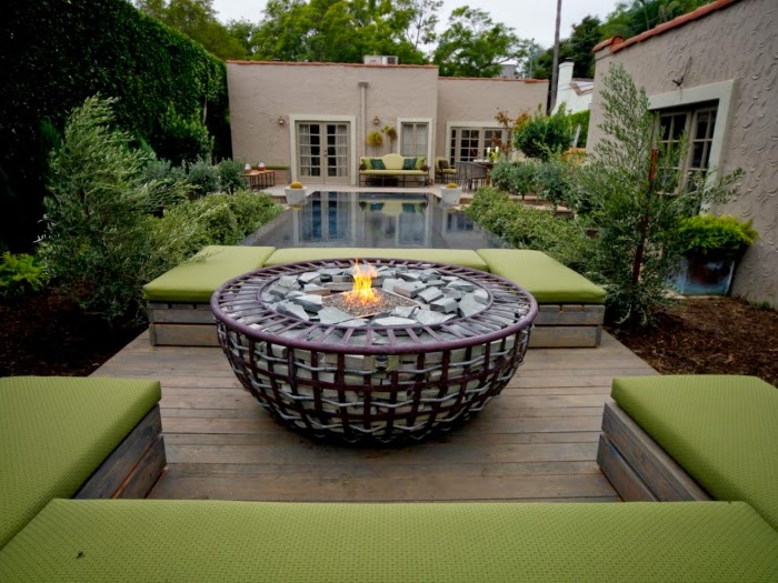 nature fire pit