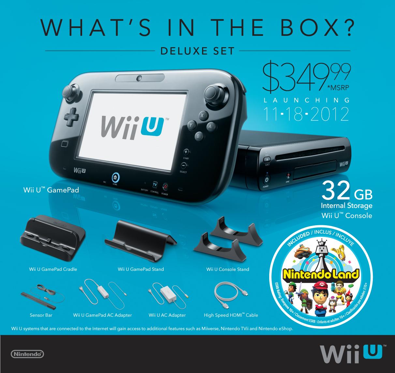 Holocrn El Wii U Ya Tiene Precio Y Fecha De Lanzamiento