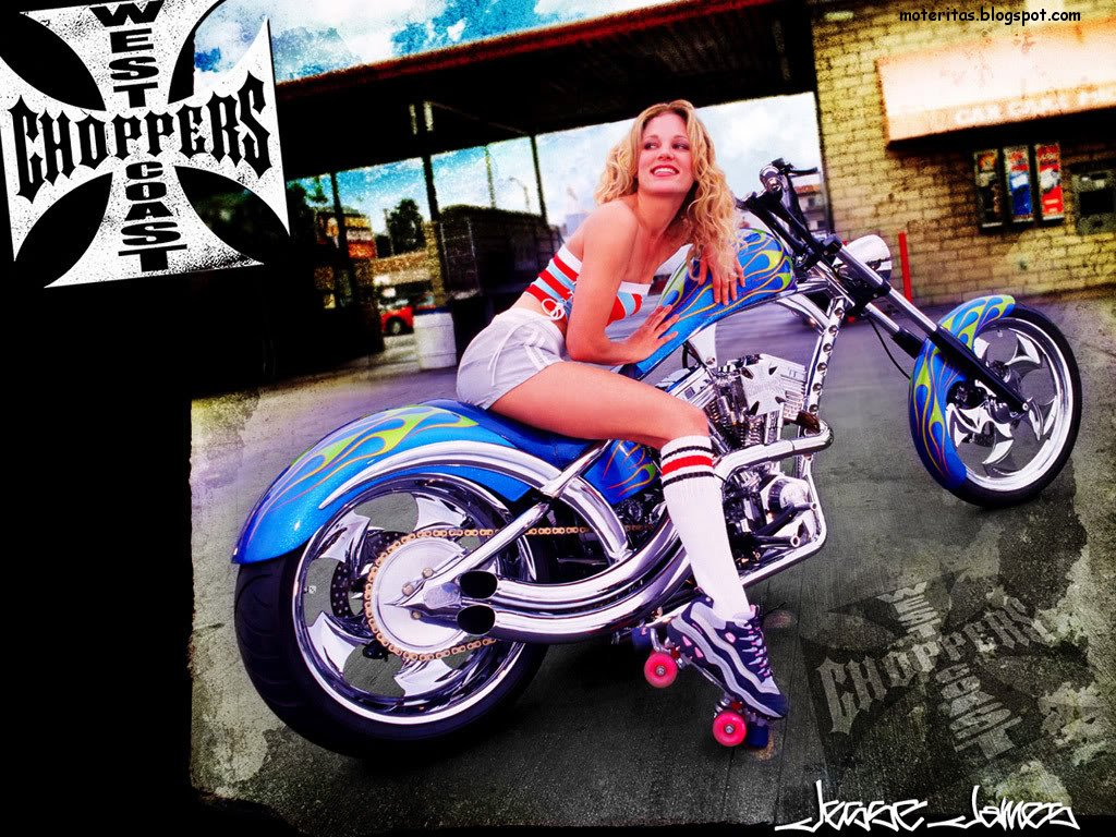 Girls Motorcycle Biker Custom Wallpaper On Rally Dakar Quad