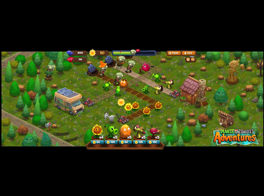 Plants vs. Zombies Adventure Screenshot