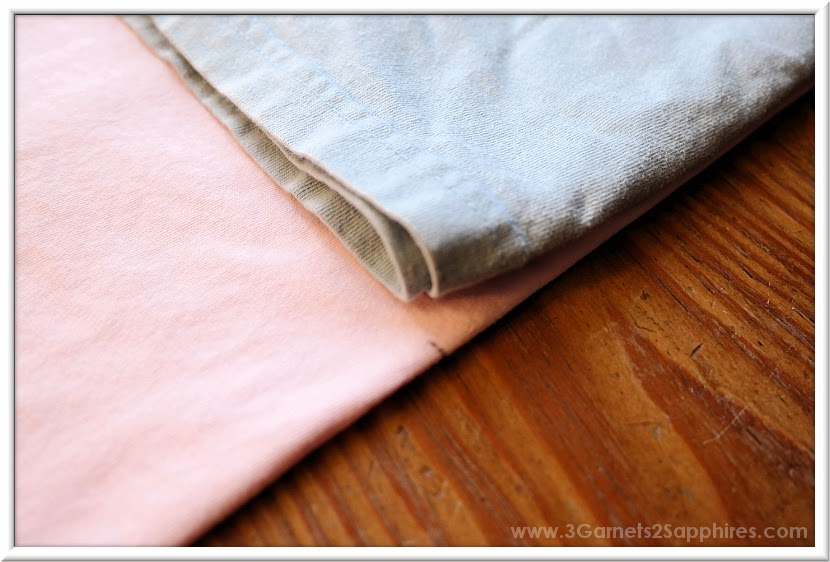 How-to Make Your Own No-Sew High-Low T-Shirt Craft - Step 6