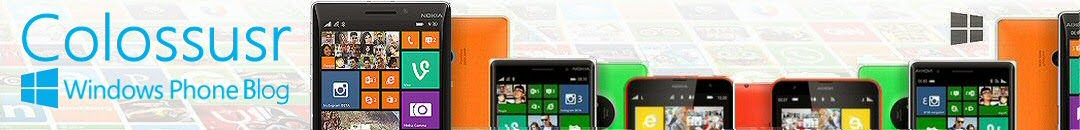 Colossus Windows Phone Blog