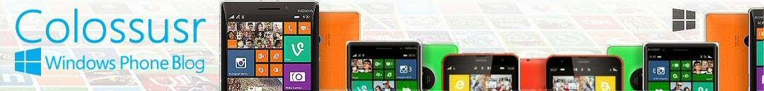 Colossus Windows Phone Blog