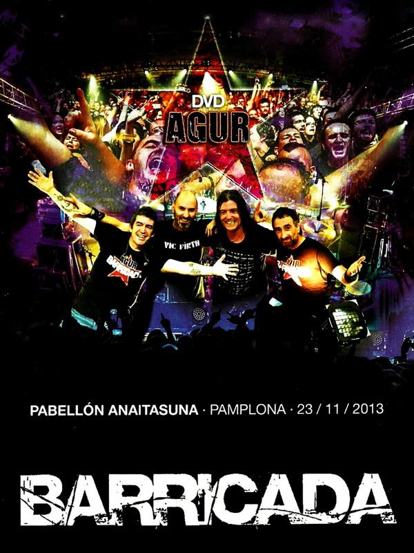 Barricada - Agur Pamplona 2013