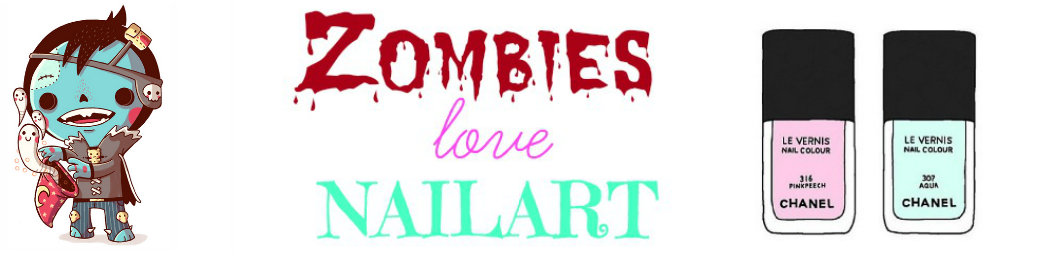 Zombies love nailart