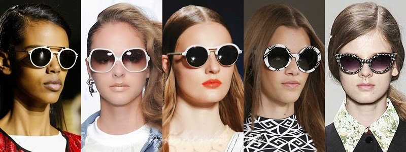 Summer 2014 Women's Sunglasses Fashion Trends