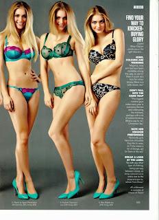 Magazine Photoshoot : Nicole Neal Photoshot For FHM Magazine January 2014 Issue