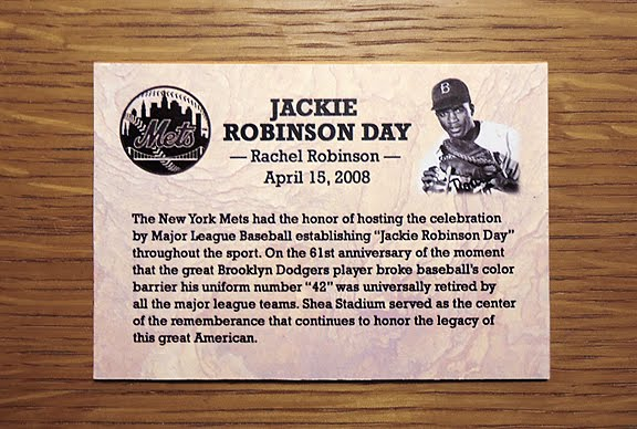 jackie robinsons impact on other lives by breaking the color barrier for baseball On april 15th 2009, a new custom was established in baseball since then, every day on this date, all uniformed baseball personnel would wear jackie robinson's number 42 in honor of this great ball player and american it was on this historic date in 1947, that he took the ball and bat at ebbetts field to play for the brooklyn dodgers and broke the color barrier in baseball.