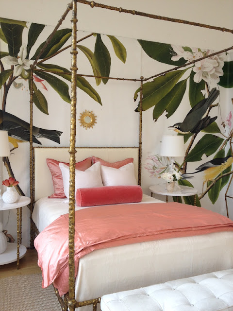 My best friend craig craigslist monday brass canopy bed for Tropical canopy bed