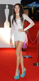 Eliza Doolittle at the Brits