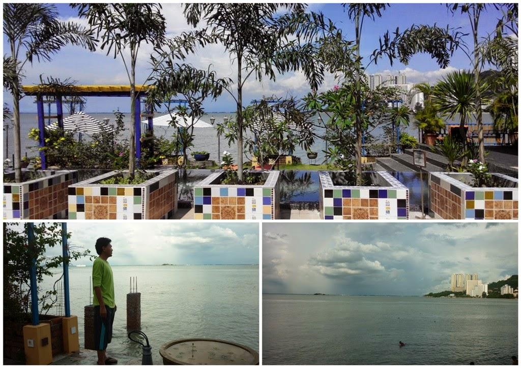 lost paradise resort feringghi, resort penang, pemandangan resort