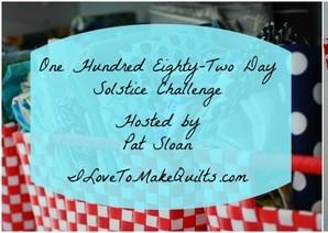 Pat Sloan - Solstice Challenge