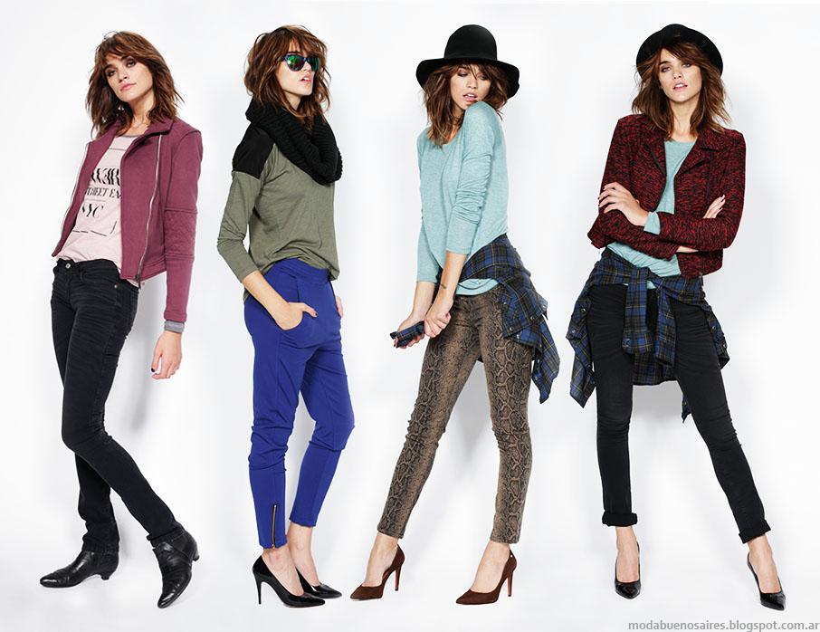 Moda otoño invierno 2015: Looks Gloria Jeans invierno 2015 mujer.
