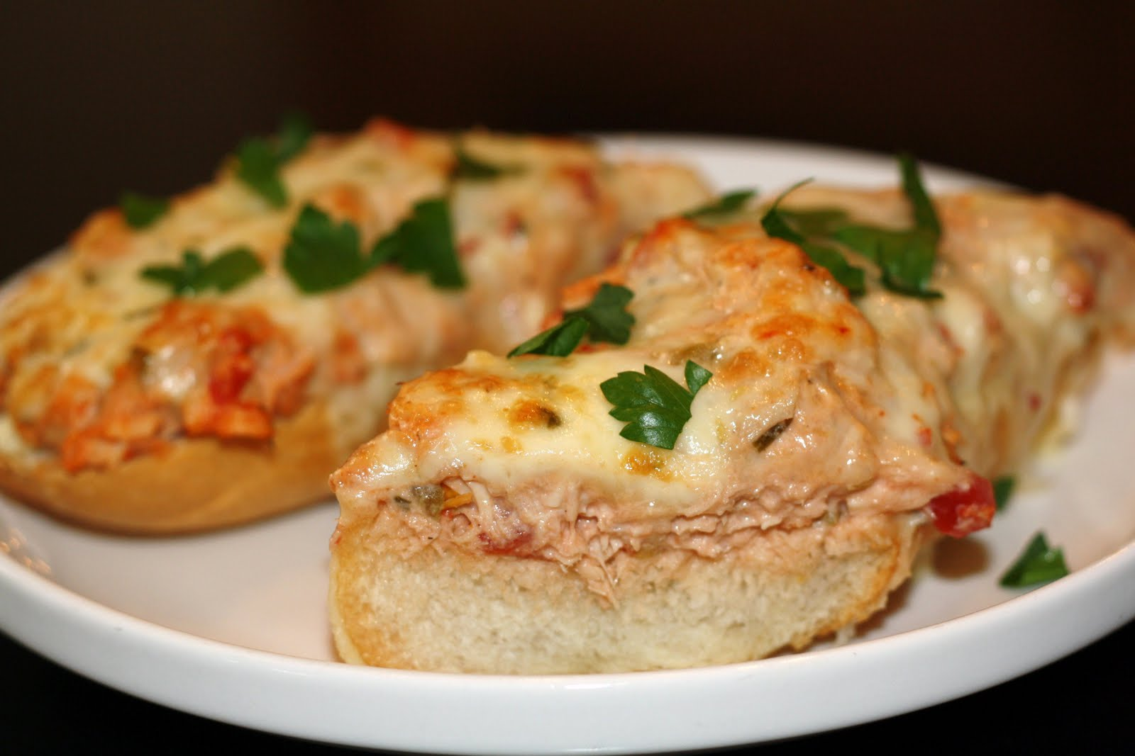 what's for dinner?: spicy tuna melt with creamy salsa soup... 25 ...