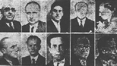 El equipo de París del Encuentro de Ajedrez París-Barcelona 1949