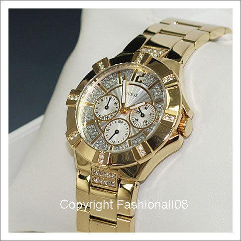 1552c58c951 Relógio Feminino Guess com cristais Swarovski por R  639