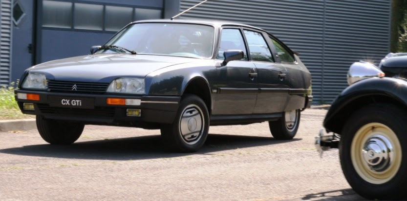 Citroen CX and Traction