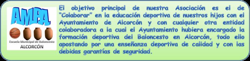 AMPA Escuela Municipal de Baloncesto Alcorcón