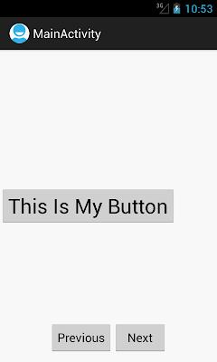 Android ViewAnimator
